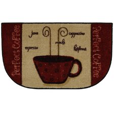 New Wave Perfect Coffee A Novelty Rug