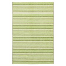 Woodgrain Light Green Cuddle Kids Rug