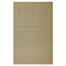 Home Comforts Beige Cushion Rug
