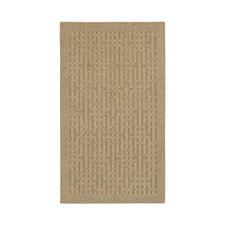 Home Comforts Taupe Stacks Apple Butter Rug
