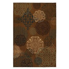 Kaleidoscope Brown Spanish Inspiration Rug