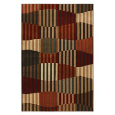 Kaleidoscope Multi Linear Patchwork Rug