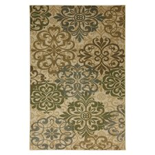 Cachet Cream Abstract Lace Rug
