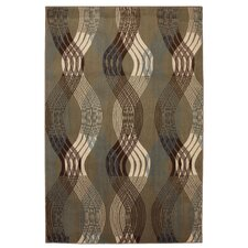 Cachet Taupe Linear Motion Rug