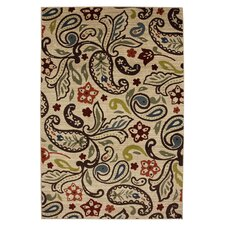 Estate Multi Retro Paisley Rug