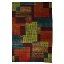 <strong>Mohawk Home</strong> Intermezzo Multi East Village Blocks Rug