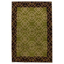 <strong>Mohawk Select</strong> Intermezzo Lime Melody Plantation Rug