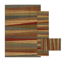 <strong>Mohawk Select</strong> New Wave Mayan Sunset Sierra Rug (Set of 3)