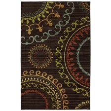 New Wave Multi New Suzani Panel Rug