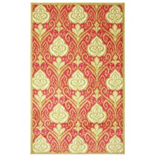 <strong>Mohawk Select</strong> New Wave Hot Pink Elegant Ikat Rug