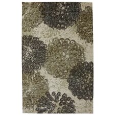 Strata Taupe Poppy Oversize Area Rug