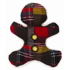 Wooly Madras Man Plush Dog Toy