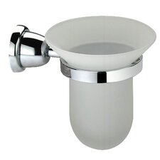 Cantori Wall-mount Frosted Glass Tumbler