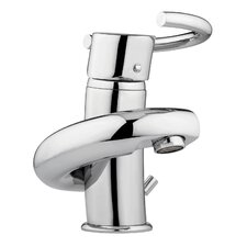 Twist Single Hole Bathroom Sink Faucet with Single Handle