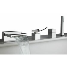 <strong>Artos</strong> Quarto Single Handle Deck Mount Roman Tub Faucet Trim
