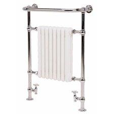 Isbourne Floor Mount / Wall Mount Hydronic/ ElectricTowel Warmer