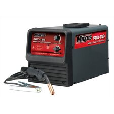 MIG/Flux 230V Welder 180A with Regulator, Wire And 2 Extra Nozzles