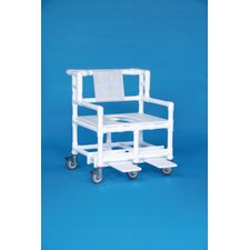 "Bariatric Shower Chair with 30"" Between Arms"
