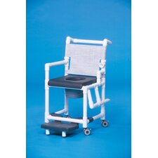 <strong>Innovative Products Unlimited</strong> Deluxe Shower Commode with Left Drop Arm