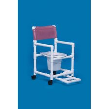 <strong>Innovative Products Unlimited</strong> Standard Line Commode with Footrest
