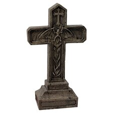 Balkan Vampire Blood Cross Statue