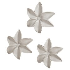 Autumn's Trail Ceramic Wall Flowers (Set of 3)