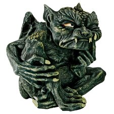 Devilish Gothic Troll Tempest Statue