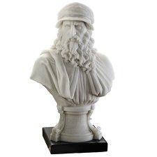 Italian Renaissance Masters Leonardo Bust