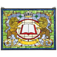 Lion Coat of Arms Window