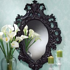 Madame Antoinette  Ebony Salon Mirror
