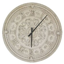 "Grande Oversized 33.5"" Train Station Wall Clock"