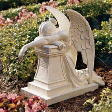 <strong>Design Toscano</strong> Angel of Grief Monument Statue