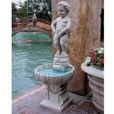 Resin Manneken Piped Pis Fountain
