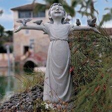 Basking in God's Glory Statue