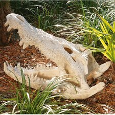 <strong>Design Toscano</strong> Crocodile Skull Artifact Statue