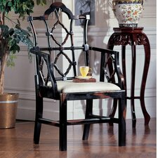 <strong>Design Toscano</strong> Chinese Chippendale Arm Chair (Set of 2)