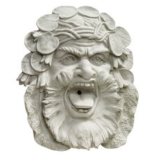 Hafod Mansion Greenman Resin Wall Sculpture Fountain