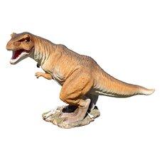 Scaled Jurassic T-Rex Raptor Dinosaur Statue