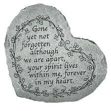 Gone Yet Not Forgotten...Memorial Garden Marker Stepping Stone