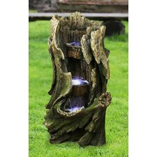 Cascading Creek Garden Resin Tiered Fountain
