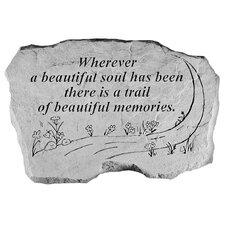 A Beautiful Soul...Memorial Garden Marker Stepping Stone