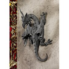 <strong>Design Toscano</strong> Horned Dragon of Devonshire Wall Décor (Set of 2)