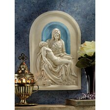 <strong>Design Toscano</strong> The Pieta (1499) Lunette Wall Décor
