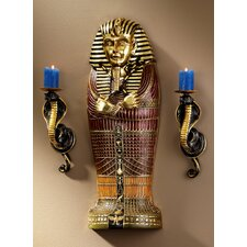 <strong>Design Toscano</strong> Sarcophagus of Egyptian King Tut Wall Décor