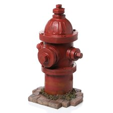 Dog's Second Best Friend Fire Hydrant Statue