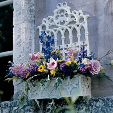 Cast Iron Gothic Revival Flower Box