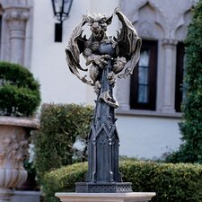 <strong>Design Toscano</strong> Raptor Gargoyle Surveyor of The Realm Statue