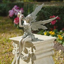 <strong>Design Toscano</strong> Fairy of The West Wind Sitting Statue