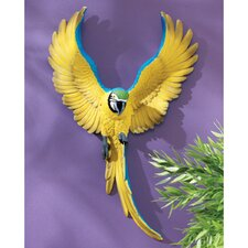 Phineas the Flapping Macaw Bird Wall Décor