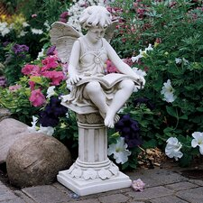 <strong>Design Toscano</strong> The British Reading Fairy Garden Statue